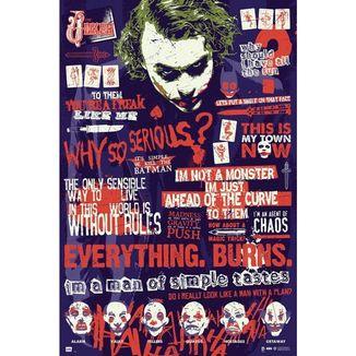 Poster Joker Quitographic DC Comics 91,5 x 61 cms