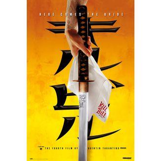 Poster Kill Bill Katana 91,5 x 61 cms