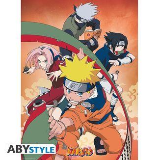 Naruto Team 7 Poster 52 x 38 cms
