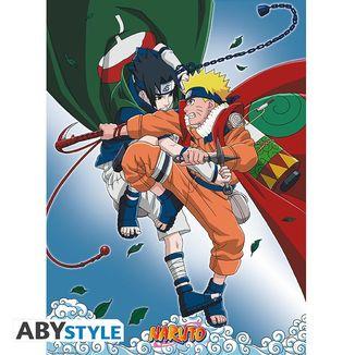 Naruto vs Sasuke Poster 52 x 38 cms