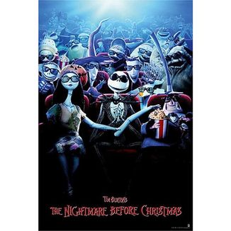 Poster Nightmare Before Christmas Movies 91.5 x 61 cms