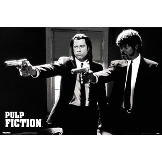 Poster Pulp Fiction Divine Intervention 91,5 x 61 cms