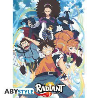 Poster Radiant Grupo 52 x 38 cms