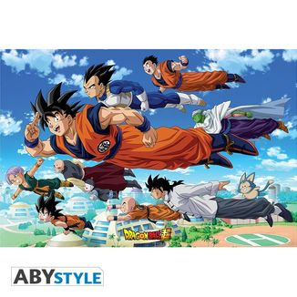 Poster Son Goku & Co Dragon Ball Z 91.5x61