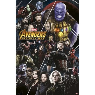 Avengers Infinity War Poster 91.5 x 61 cms