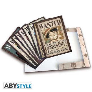 Posters Wanted Luffy's Crew Wano One Piece Set of 9
