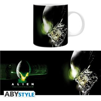 Taza In Space No One Can Hear You Scream Alien
