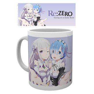 Taza Rem & Emilia Re Zero 320 ml