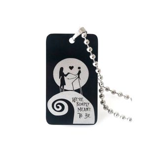 We're Simply Meant to be Necklace Nightmare Before Christmas