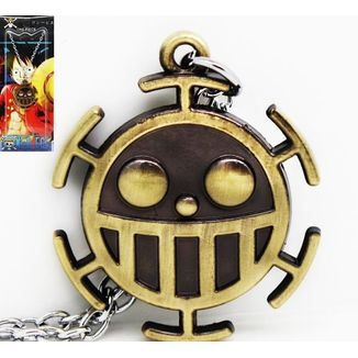 Colgante One Piece Trafalgar Law dorado