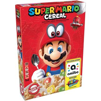KELLOGG'S SUPER MARIO CEREAL WITH AMIIBO