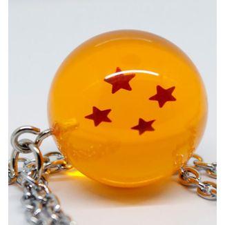 Colgante Dragon Ball Bola de Cuatro Estrellas