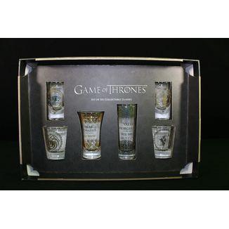 Set premium glasses shot Game of thrones