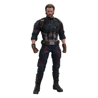 Figura Vengadores Infinity War Captain America Movie Masterpiece