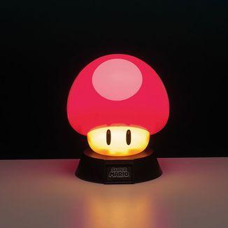 Lámpara 3D Power UP Super Mario Bros