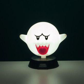 Lámpara 3D Boo Super Mario Bros