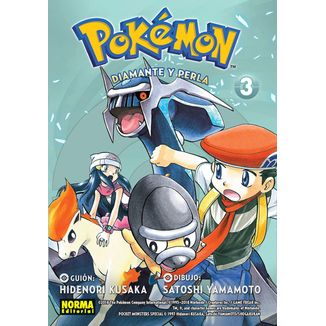 Pokemon - Diamante y Perla #03 Manga Oficial Norma Editorial