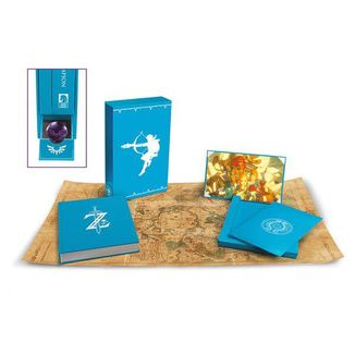 Art Book Creating A Champion Hero's Edition The Legend Of Zelda Breath Of The Wild