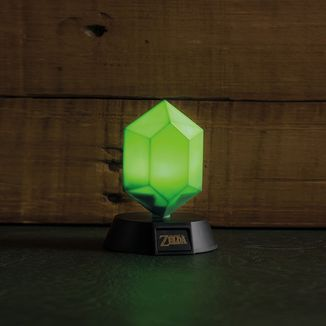 Lámpara 3D Rupia The Legend of Zelda