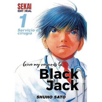 Give my regards to Black Jack #01 Manga Oficial Sekai Editorial (Spanish)