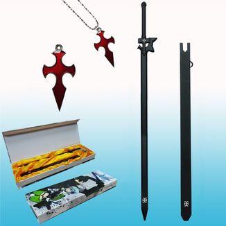 Set Colgante y Llavero Sword Art Online
