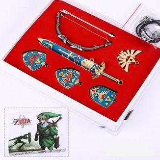 Set Colgante y Llavero The Legend of Zelda