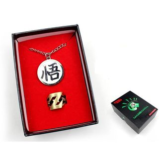 Dragon Ball Z Pendant and Ring Set