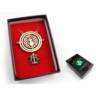 Colgante y Anillo Harry Potter Set