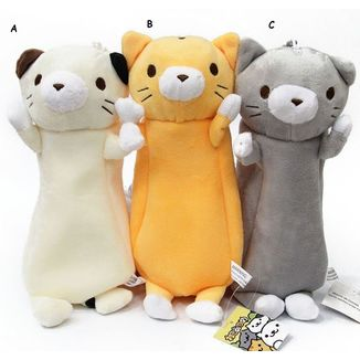 Pencil Bag Plush Cat