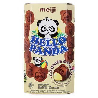 Cookies Hello Panda Cookies & Cream Meiji