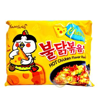 Spicy Chicken and Cheese Ramen Samyang