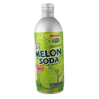Melon Soda Drink