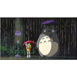 My Neighbor Totoro Wooden Wall Art Bus Stop Studio Ghibli