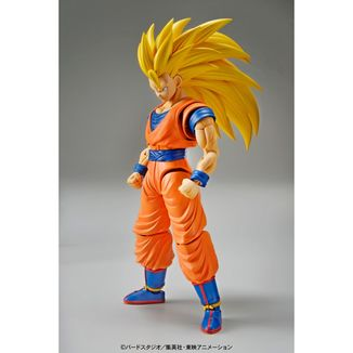 Dragon Ball Z Son Goku SSJ3 Model Kit Figure Rise Standard
