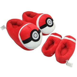 Zapatillas Pokemon - Pokeball Cerradas