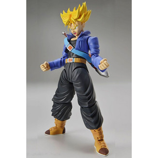 Model Kit Dragon Ball Z Trunks Super Saiyan Figure Rise Standard