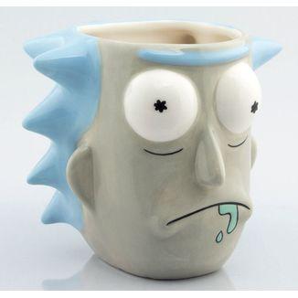 Taza 3D Rick y Morty - Rick