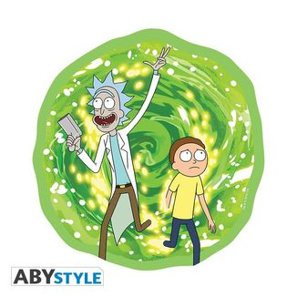 Alfombrilla Rick y Morty - Portal dimensional