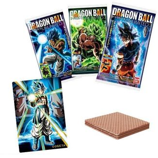 Galleta Wafer Dragon Ball Unlimited 3
