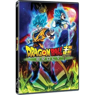 Dragon Ball Super Broly The Film DVD