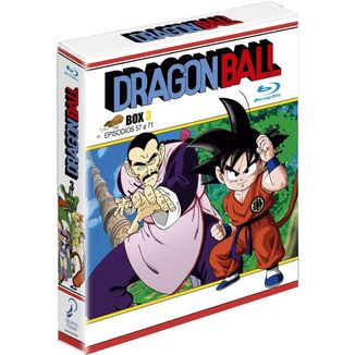 Dragon Ball Box 3 Episodios 51 a 68 Bluray