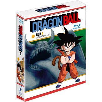 Dragon Ball Box 4 Episodios 69 a 88 Bluray