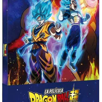 Dragon Ball Super Broly The Film Metallic Collector's Edition Bluray