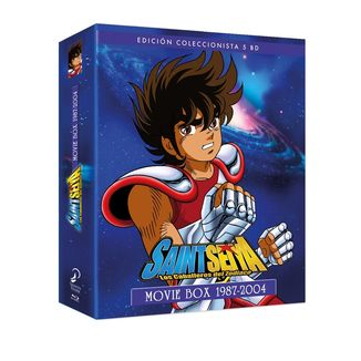 Saint Seiya Los Caballeros Del Zodiaco: Movie Box 1987 - 2004 Bluray