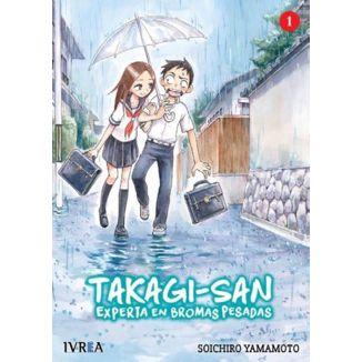Takagi-san, Experta En Bromas Pesadas #01 Manga Oficial Ivrea
