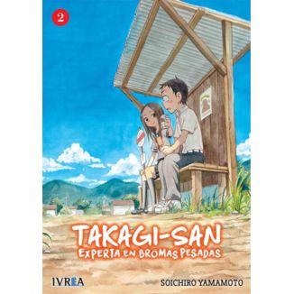 Takagi-san, Experta En Bromas Pesadas #02 Manga Oficial Ivrea