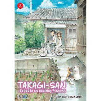 Takagi-san, Experta En Bromas Pesadas #03 Manga Oficial Ivrea