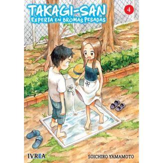 Takagi-san, Experta En Bromas Pesadas #04 Manga Oficial Ivrea