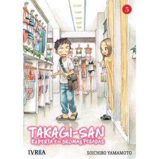 Takagi-san, Experta En Bromas Pesadas #05 Manga Oficial Ivrea (spanish)