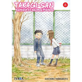Takagi-san, Experta En Bromas Pesadas #08 Manga Oficial Ivrea